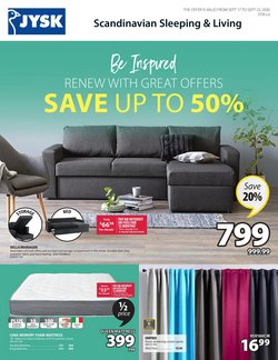 Home & Furniture offers in the JYSK catalogue in Montreal ( 2 days left )