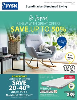 Home & Furniture offers in the JYSK catalogue ( 1 day ago )