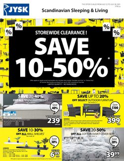 Home & Furniture deals in the JYSK catalogue ( 3 days left)