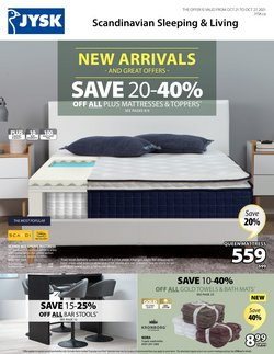 Home & Furniture deals in the JYSK catalogue ( 2 days left)