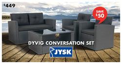 JYSK deals in the Montreal flyer
