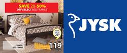 JYSK deals in the Edmonton flyer