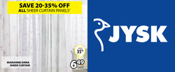 JYSK deals in the Salaberry-de-Valleyfield flyer