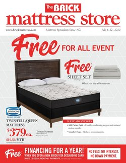 Home & Furniture offers in the The Brick catalogue in St. Catharines ( 1 day ago )