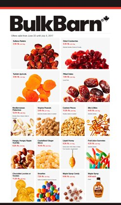 Bulk Barn deals in the Mississauga flyer