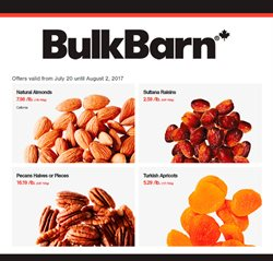 Bulk Barn deals in the St. John's flyer
