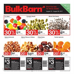 Bulk Barn deals in the Vancouver flyer