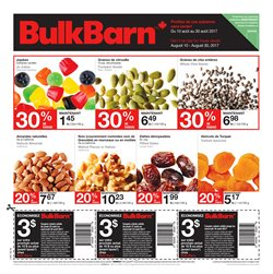 Bulk Barn deals in the Montreal flyer