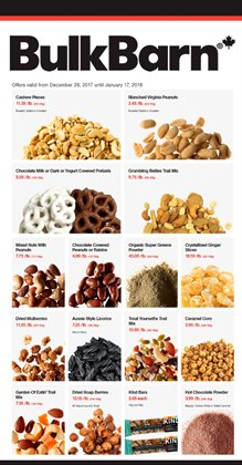 Grocery offers in the Bulk Barn catalogue in Vancouver