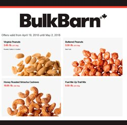 Grocery offers in the Bulk Barn catalogue in Sudbury