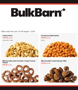 Bulk Barn deals in the Quebec flyer
