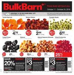 Bulk Barn deals in the Salaberry-de-Valleyfield flyer
