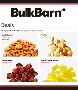 Grocery offers in the Bulk Barn catalogue in Prince George