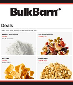Bulk Barn deals in the Calgary flyer