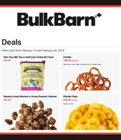 Bulk Barn deals in the Scarborough flyer