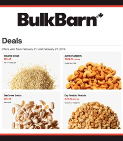 Grocery offers in the Bulk Barn catalogue in Ottawa