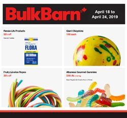 Bulk Barn deals in the Hamilton flyer