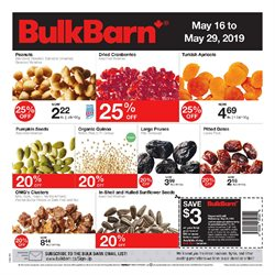 Grocery offers in the Bulk Barn catalogue in Toronto