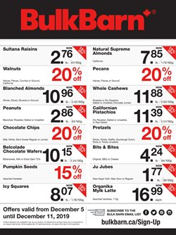 Bulk Barn deals in the Toronto flyer
