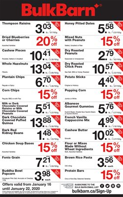 Bulk Barn deals in the Edmonton flyer