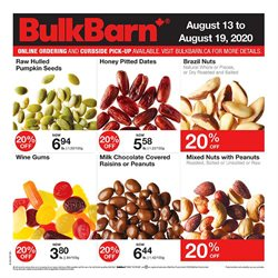 Grocery offers in the Bulk Barn catalogue in Edmonton ( 1 day ago )