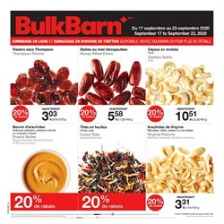 Grocery offers in the Bulk Barn catalogue in Montreal ( Expires today )
