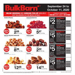 Bulk Barn catalogue ( 15 days left)