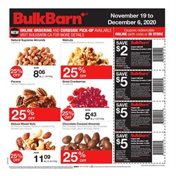 Bulk Barn catalogue ( 11 days left )