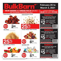 Bulk Barn catalogue ( Published today )