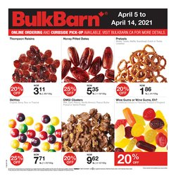 Bulk Barn catalogue ( 2 days left )