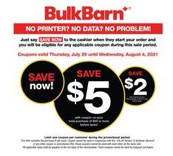 Bulk Barn catalogue ( Expires tomorrow)
