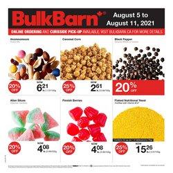 Bulk Barn catalogue ( Published today)