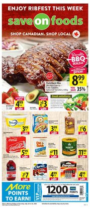 Save on Foods deals in the Calgary flyer