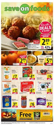 Save on Foods deals in the Coquitlam flyer