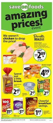 Save on Foods deals in the Nanaimo flyer