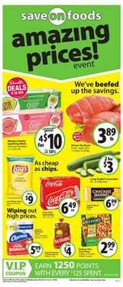 Save on Foods deals in the Victoria BC flyer