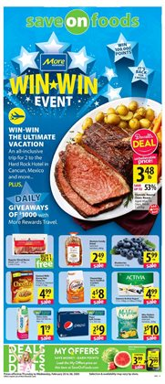 Save on Foods catalogue ( 2 days ago )