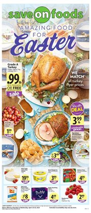 Save on Foods catalogue ( 2 days left )