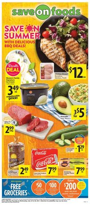 Save on Foods deals in the Save on Foods catalogue ( 3 days left)