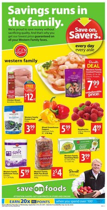 Save on Foods catalogue ( Expires tomorrow)