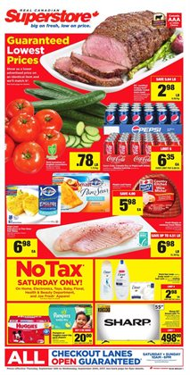 Grocery offers in the Real Canadian Superstore catalogue in Hamilton