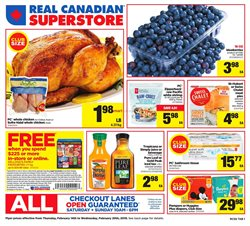 Real Canadian Superstore deals in the Scarborough flyer