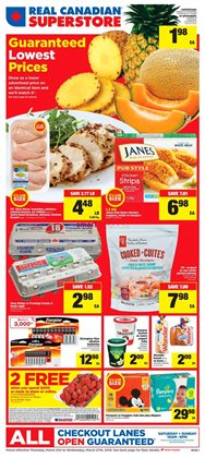 Real Canadian Superstore deals in the Mississauga flyer