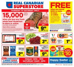 Grocery offers in the Real Canadian Superstore catalogue in Prince George