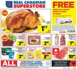 Grocery offers in the Real Canadian Superstore catalogue in Edmonton
