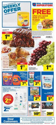 Real Canadian Superstore catalogue in Toronto ( Expires today )