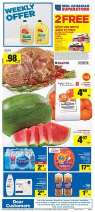Grocery offers in the Real Canadian Superstore catalogue in Edmonton ( Expires today )