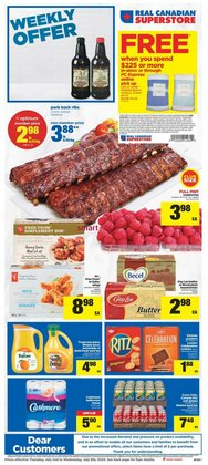 Grocery offers in the Real Canadian Superstore catalogue in Kitchener ( Expires tomorrow )