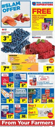 Grocery offers in the Real Canadian Superstore catalogue in Edmonton ( 1 day ago )