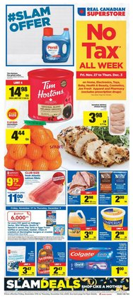 Real Canadian Superstore catalogue ( Expires tomorrow )